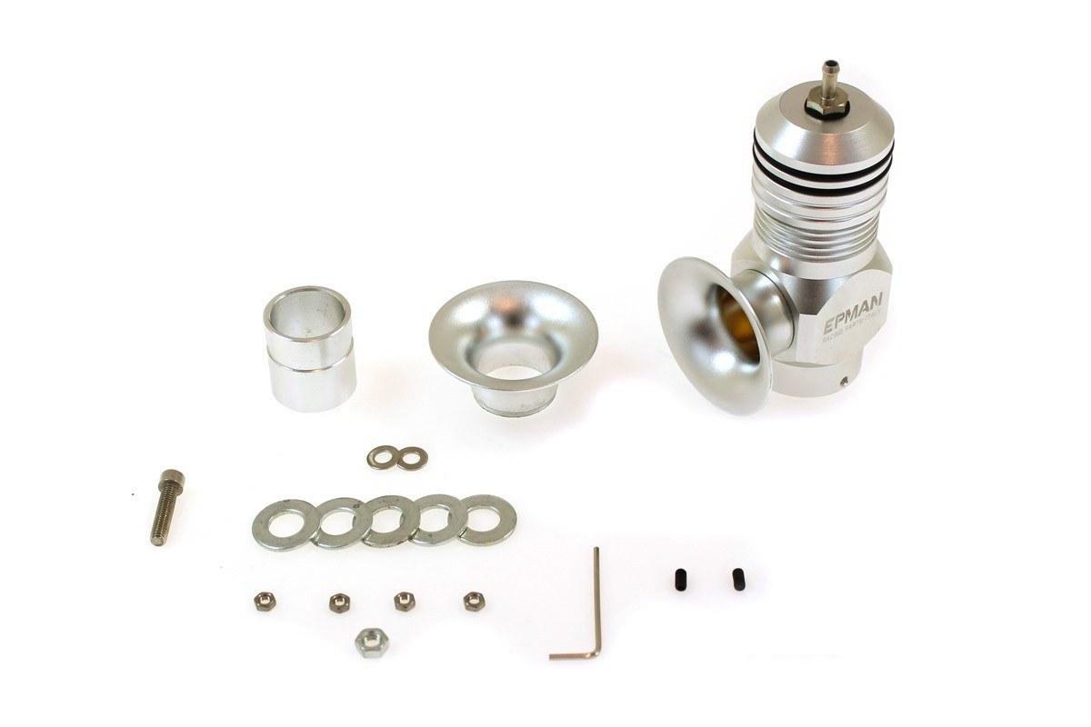 BLOW OFF Epman RF Dual Silver - GRUBYGARAGE - Sklep Tuningowy